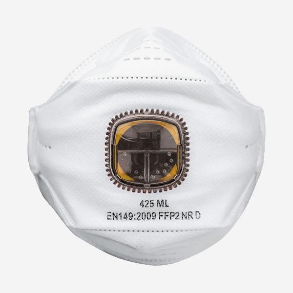 N95 MASKE FFP2 CORONA VİRÜSÜ MASKESİ - JSP 425  VİRÜS VE BAKTERİLERE KARŞI KORUYUCU MASKE  10 LU KUTU